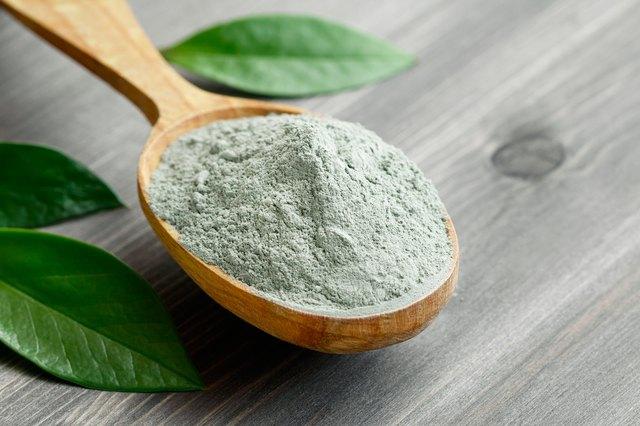 Green clay healing